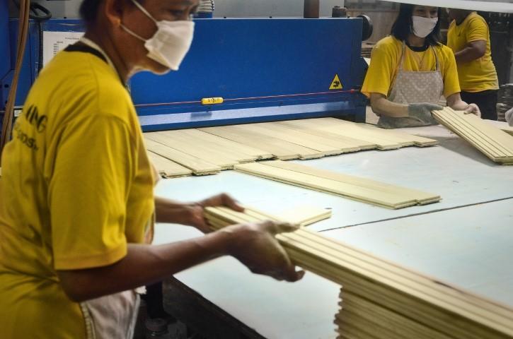 parquet flooring mounting