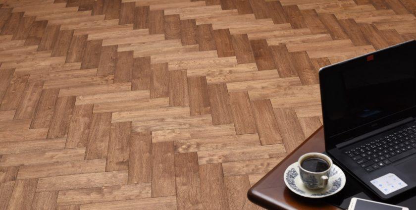 parquet flooring by jati luhur agung