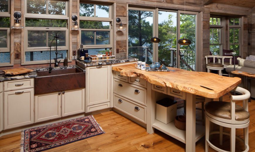 wood countertops for kitchen