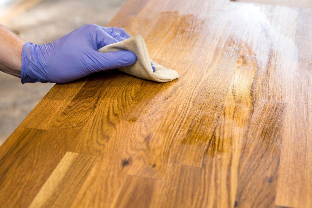 wood countertops installation