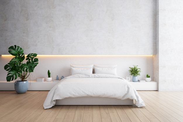cozy room using wood flooring