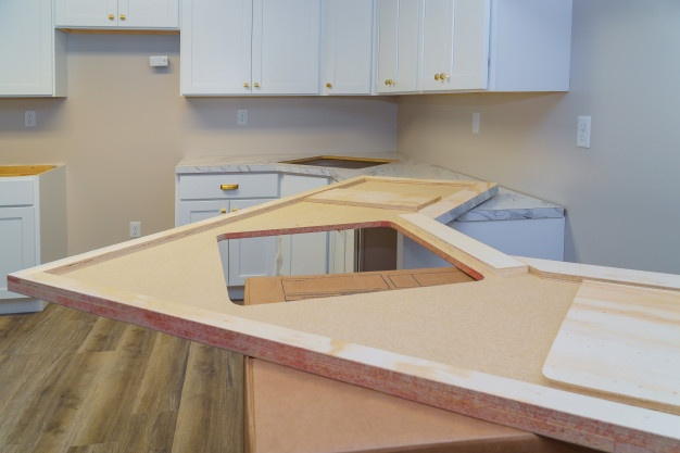 installing countertops kitchen