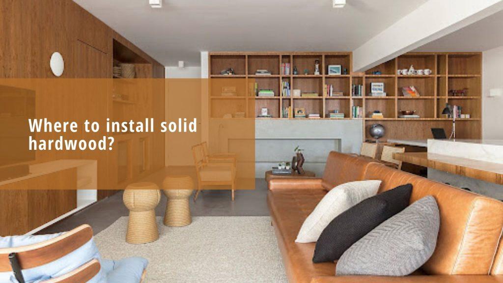 install hardwood